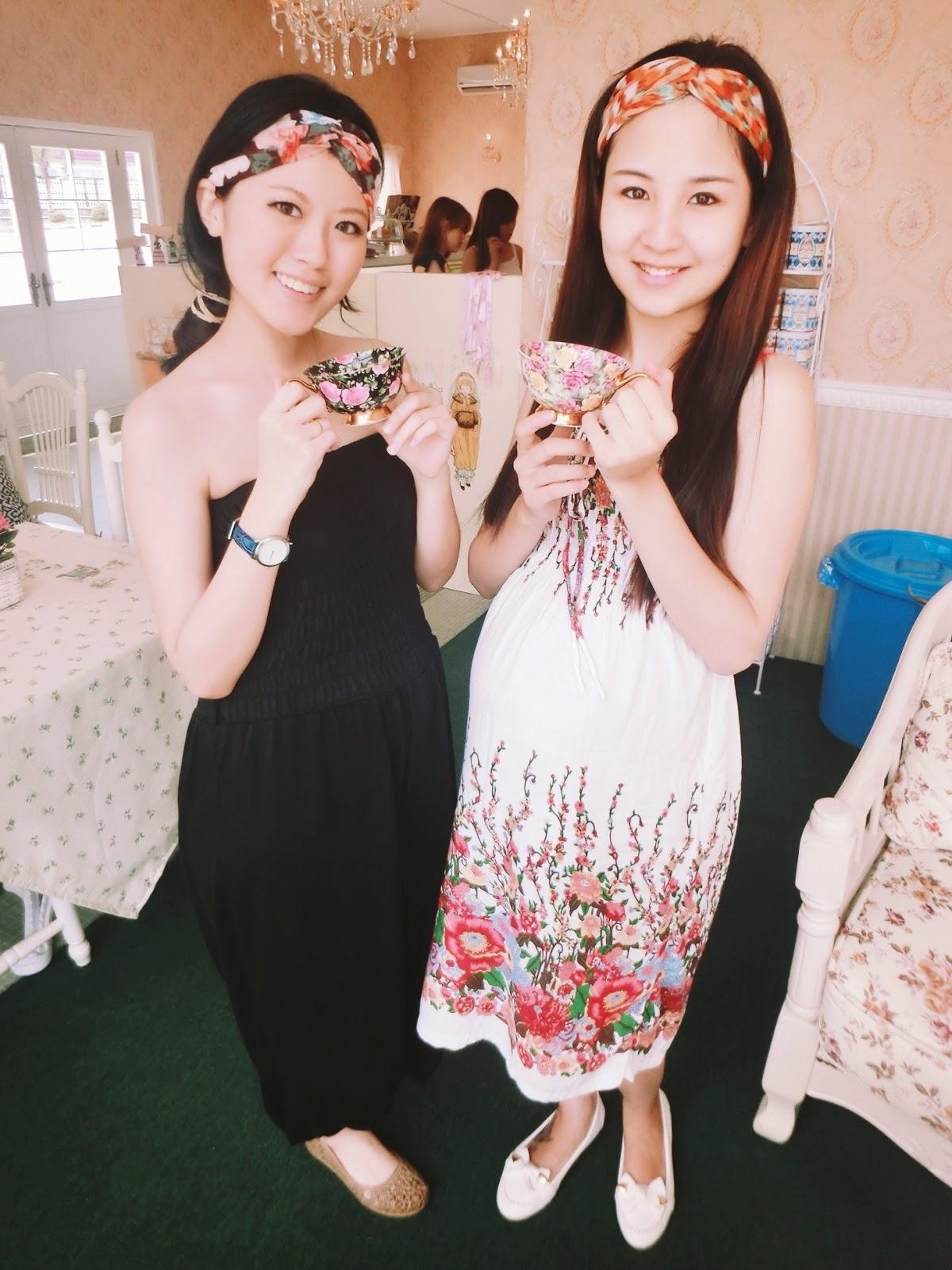 Kelly Kee,Miya Fen, Victoria Rossa English Tea Room @ Johor Bahru, Malaysia