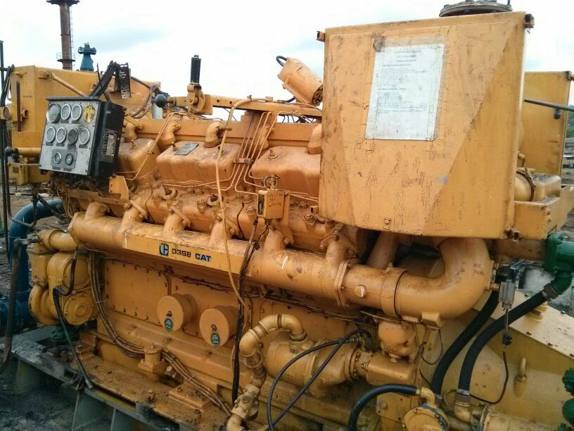 Used CAT D398 Marine Propulsion engine for sale with gearbox