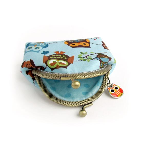 Owls purse, кошелек с совами