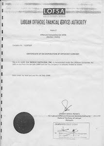Pendaftaran Organisasi