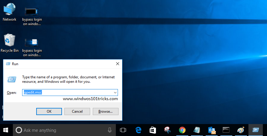 how to turn off password on windows 10 login