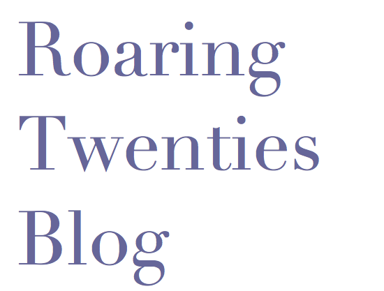 Roaring Twenties Blog