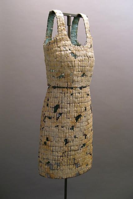 Jen Harmon Allen Dress of Armor number 3, Salt Lake County Art Collection