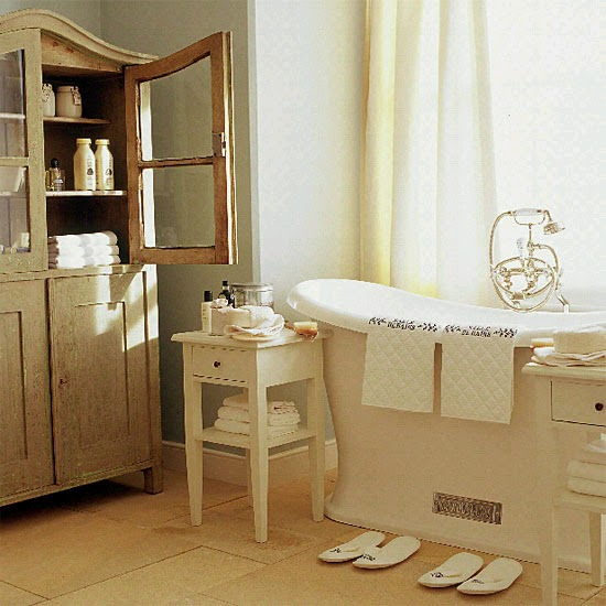Ideas Para Decorar Un Baño Antiguo:Como Decorar un Baño estilo Francés