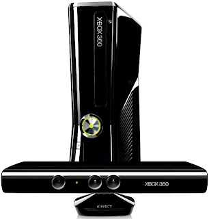 Black Microsoft Xbox 360 250GB Console - Kinect Bundle