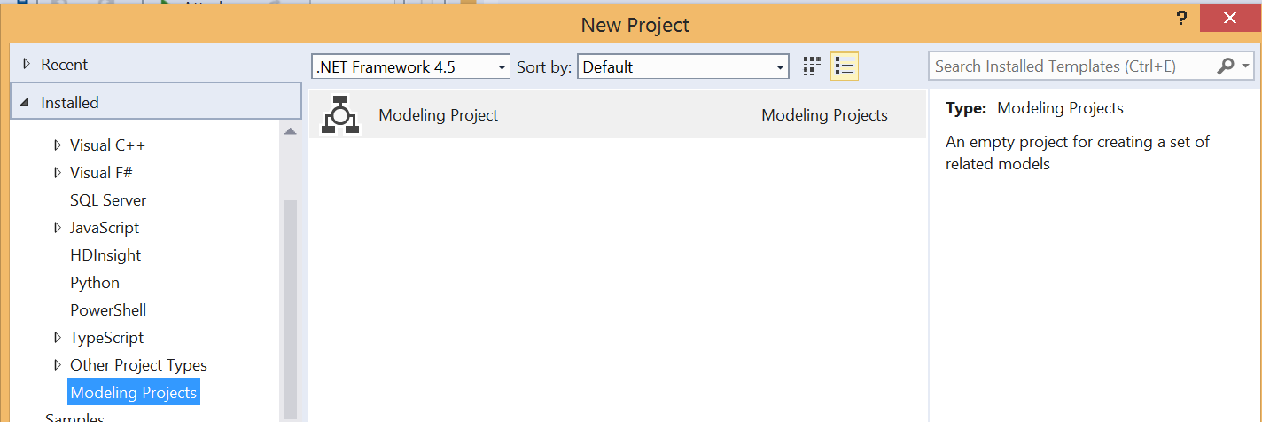 Bloom consulting bi 052015 here you see the project type in visual studio ultimate to create a new project ccuart Images