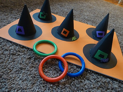 i saw this on pinterest and that this was just the cutest game ever and had to share click the link below to find out how to make - Halloween Party Activities For Toddlers