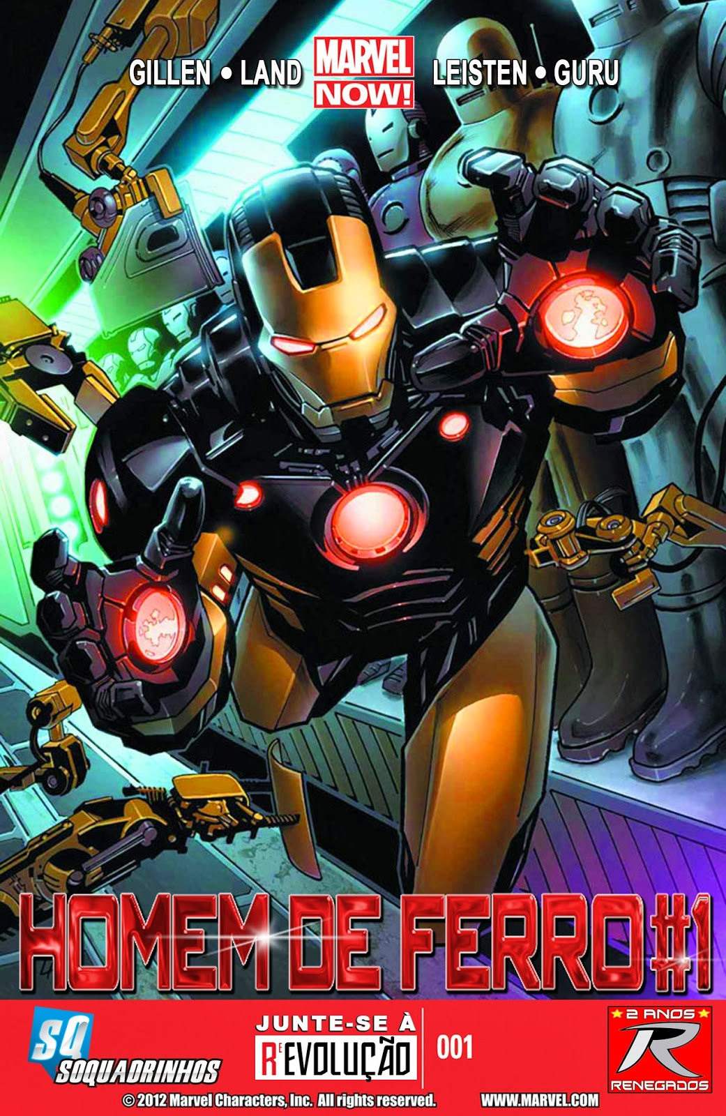 Nova Marvel! Homem de Ferro v6 #1