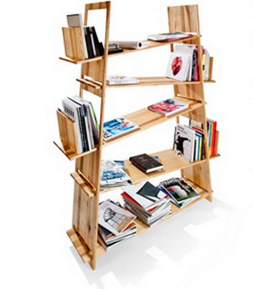 Chaos Theory the Bookcase Design, Unique Bookcase Design, Unique Shelves Design, Unique Furniture Design
