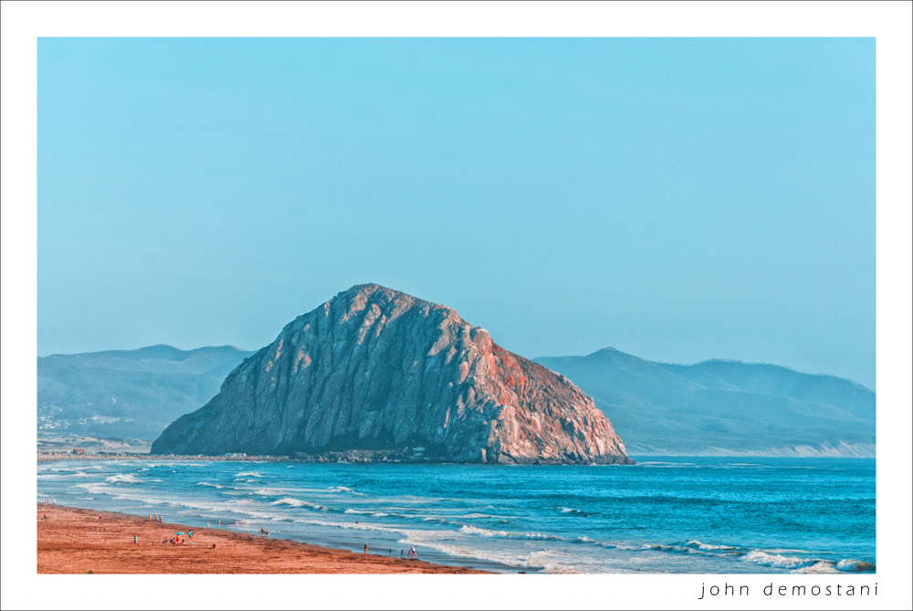 The Golden State, California Gold, Beach, Morro Rock, photography, nature, landscape photography, Impressionist