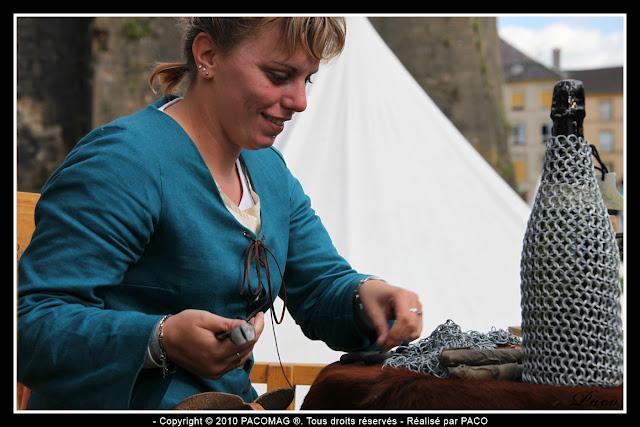 Compagnie Fleur de Lys au festival médiéval de Sedan