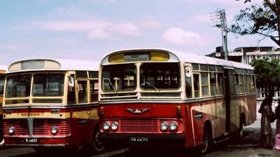 Kenangan Stesen Bas Kangar 70an, sejarah prlis, gambar kangar lama
