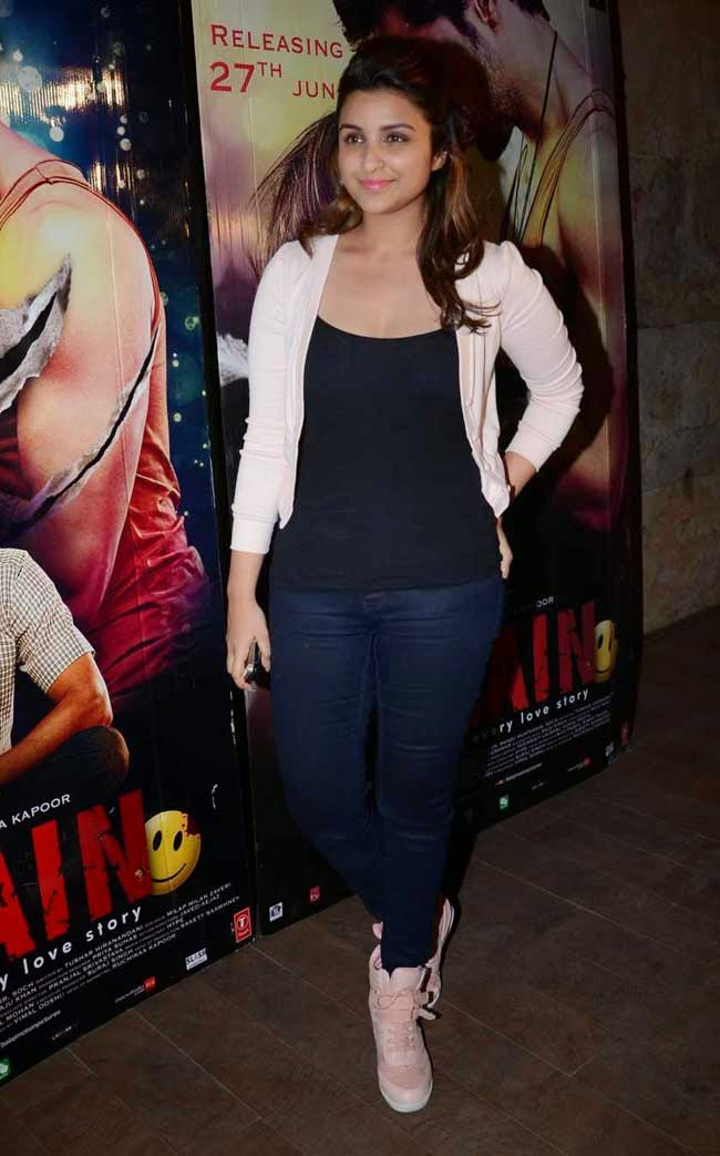 Parineeti Chopra At 'Ek Villain' Movie Special Screening