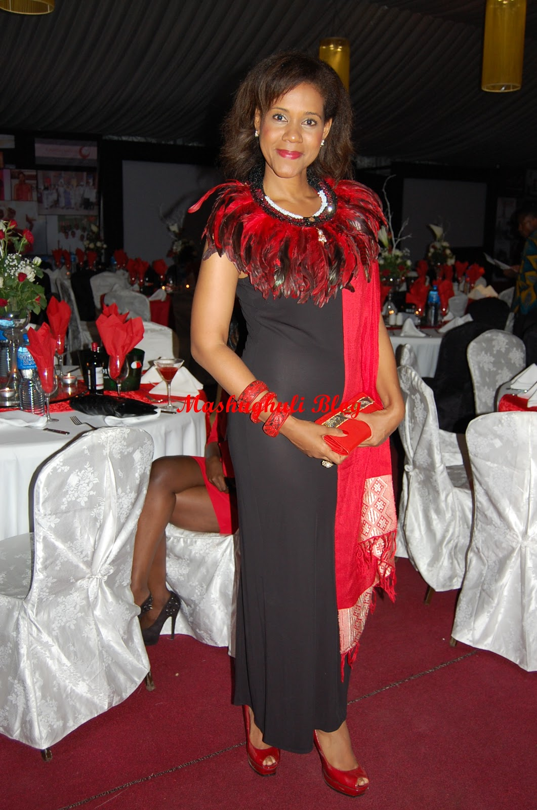 Mashughuli Blog: Red Carpet Red Ribbon Fashion Gala Serena Hotel 2012
