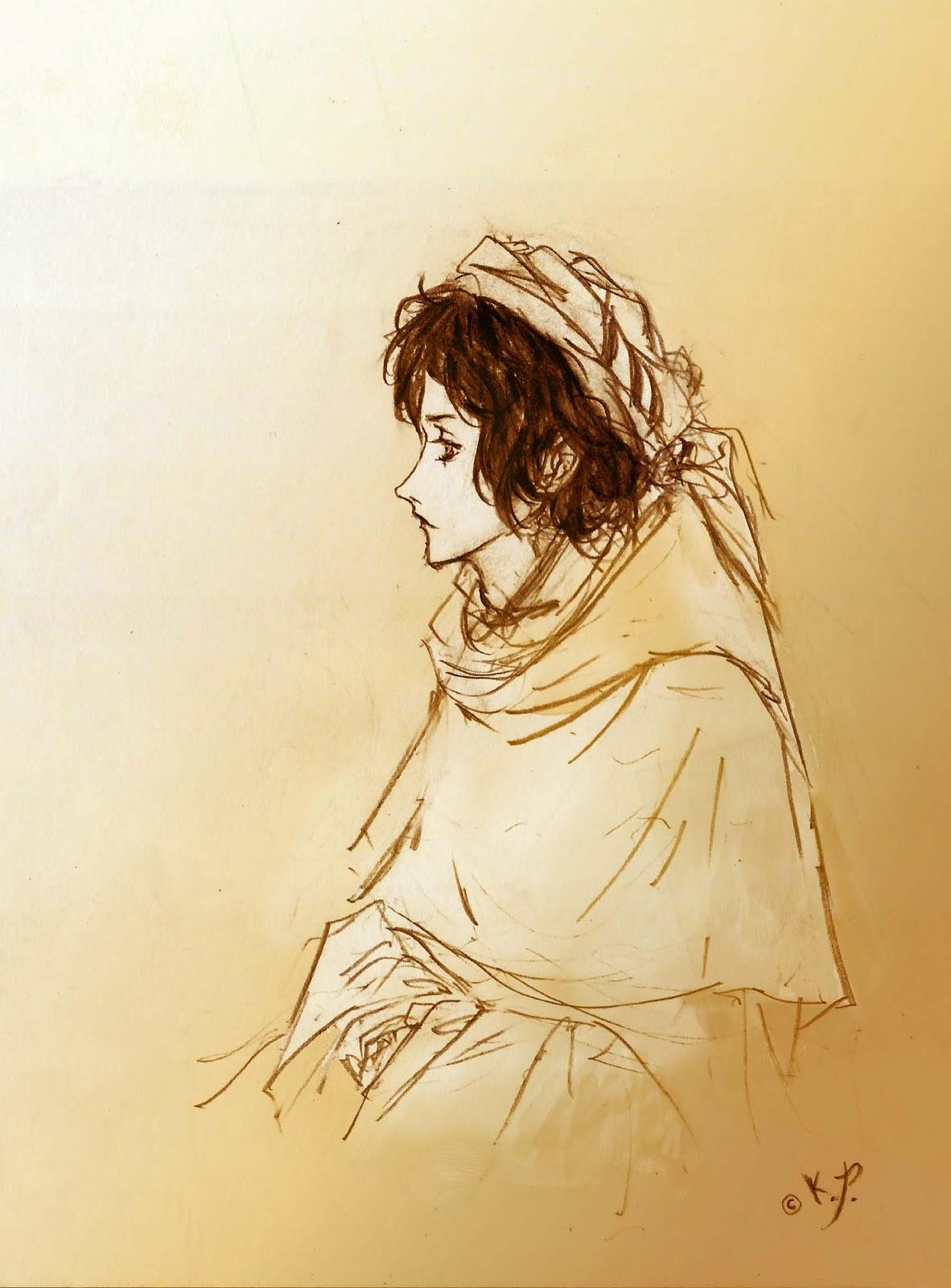 Dibujo de Ahmad el forastero