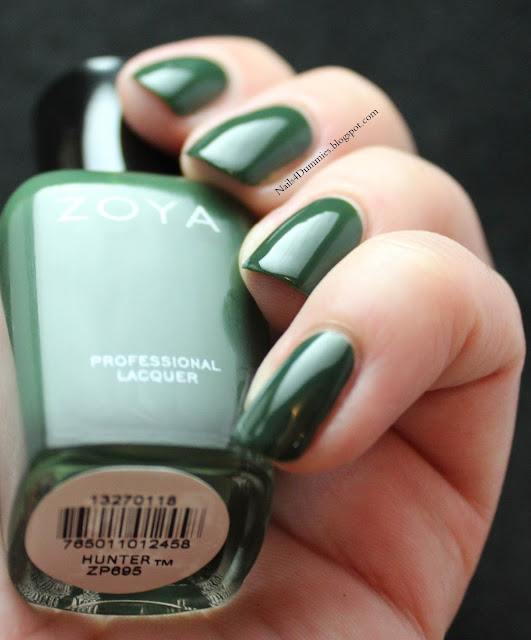 Nails4Dummies - Zoya Fall 2013 Cashmeres - Hunter