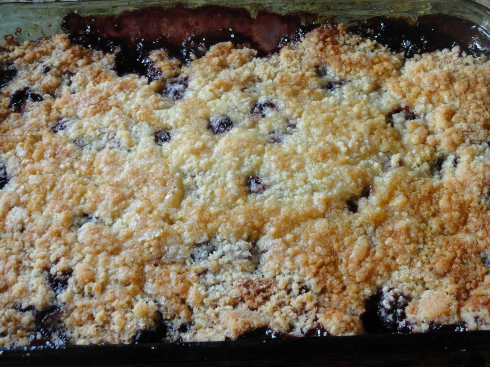 Simple Blackberry Cobbler Recipe from scratch with step by step ...