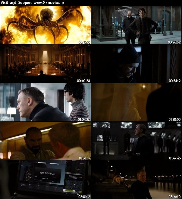 Spectre 2015 English DVDScr 450MB