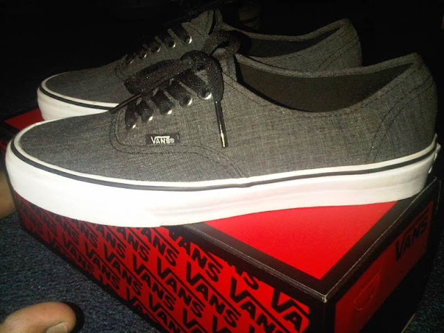 vans authentic grey size 14  264fc400c