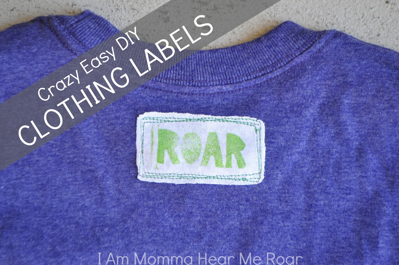DIY Clothing Labels — Crafthubs
