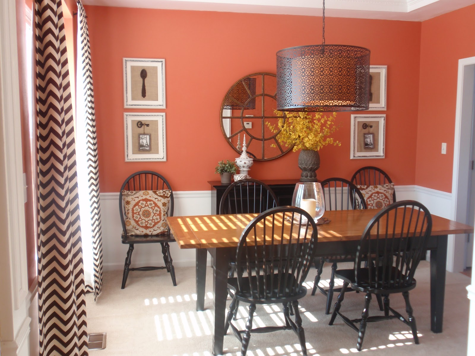 Terracotta Dining Room Color