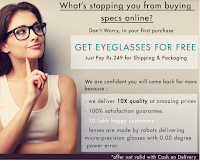 Buy Eyeglasses with Lens at Rs. 499 only : BuyToEarn