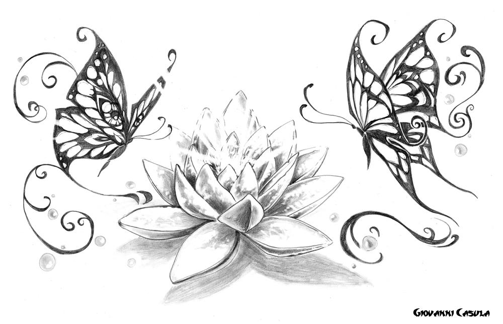 spesso Giovanni Casula Tattoo : Butterflies BK85