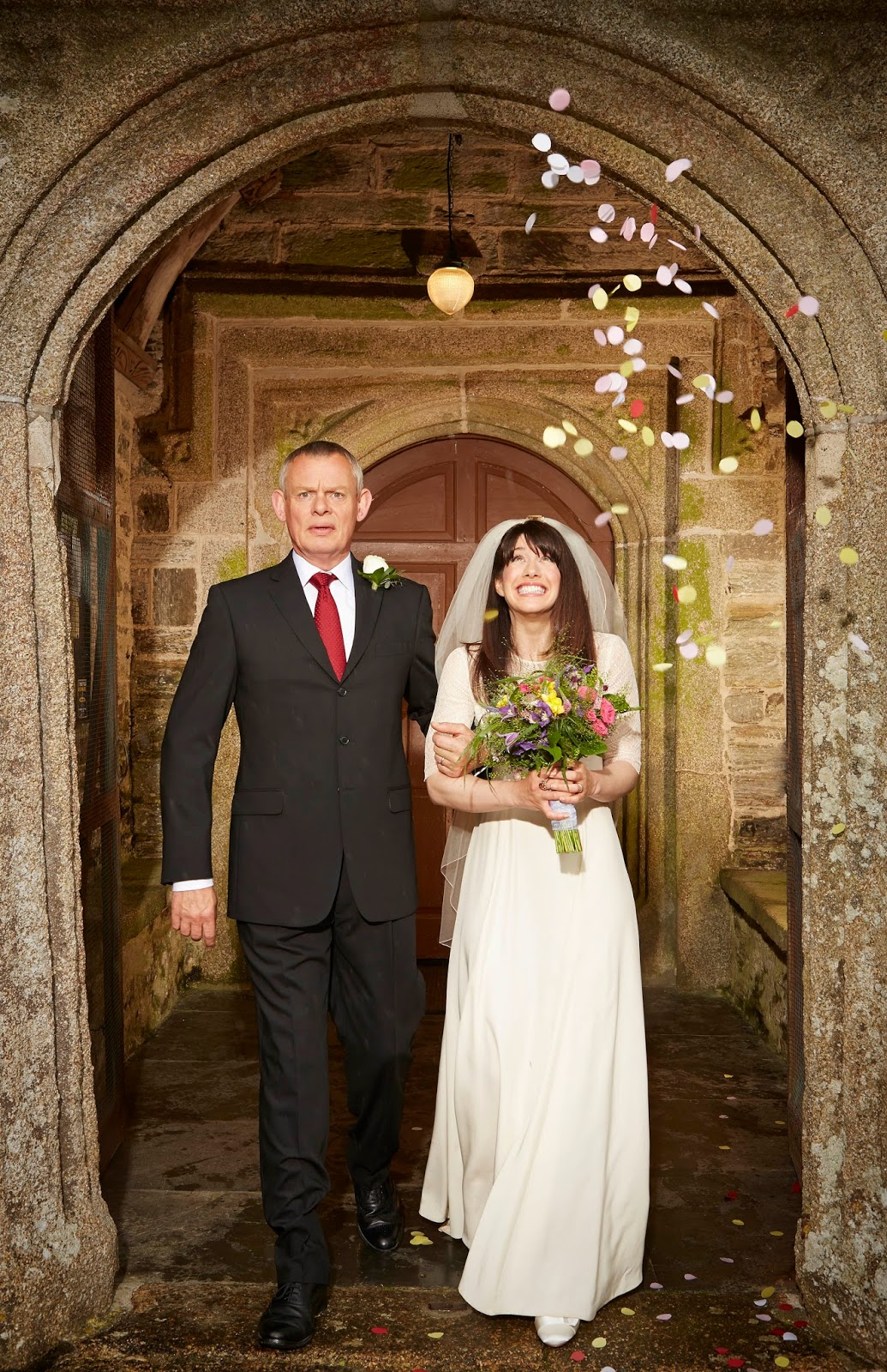 the custard tv martin clunes teases the new series of doc. Black Bedroom Furniture Sets. Home Design Ideas
