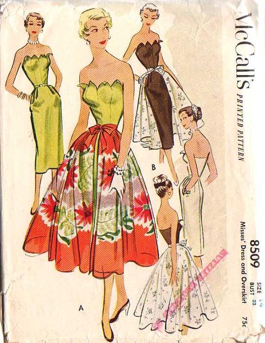 8509 16 Sewing Patterns Vintage