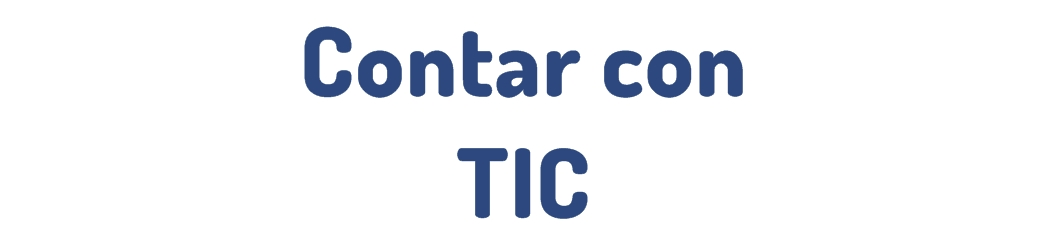 Contar con TIC
