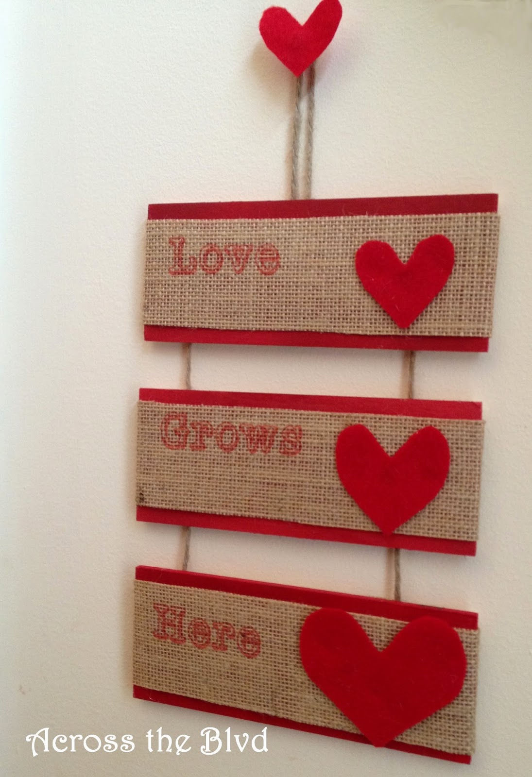 Valentine's Sign