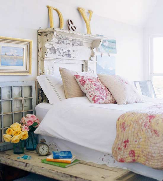 Cozy cottage style bedrooms home interior design for Cottage bedroom designs
