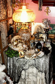 Halloween Decor in the Dining Room, 2014, Part 2