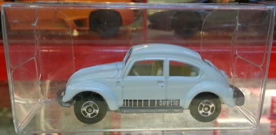 Tomica Loose VW Beetle white (1:64)
