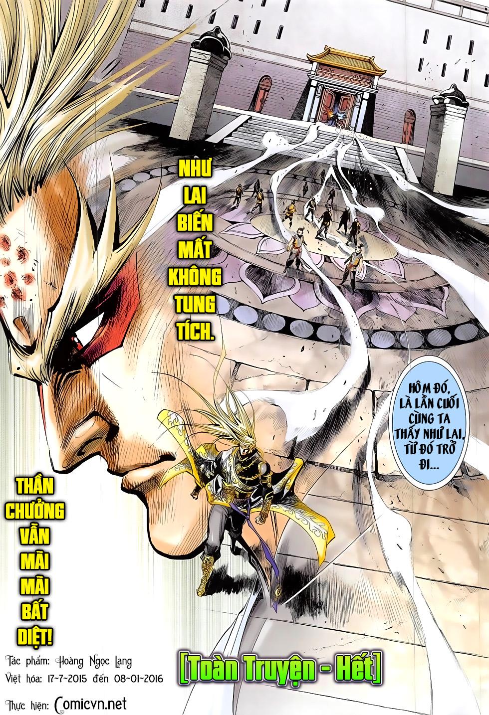Thần Chưởng chap 24 – End Trang 31 - Mangak.info