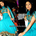 Pooja with Blue Designer Salwar Kameez