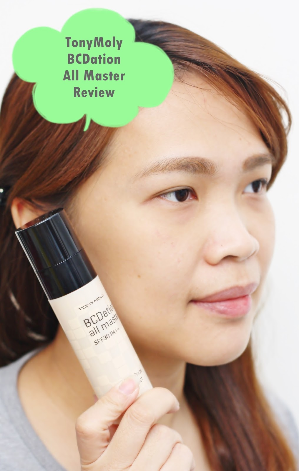 Tony Moly BCDation All Master SPF30 PA++ Air Light Base But Perfect Review