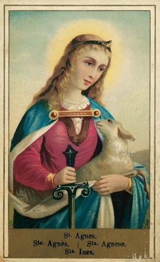 Santa Inês, Virgem e Mártir; rogai por nós!