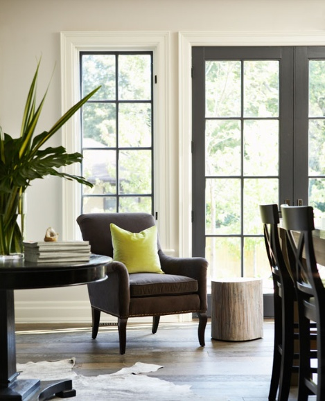 The Collected Interior Inspiration Black Painted French Doors
