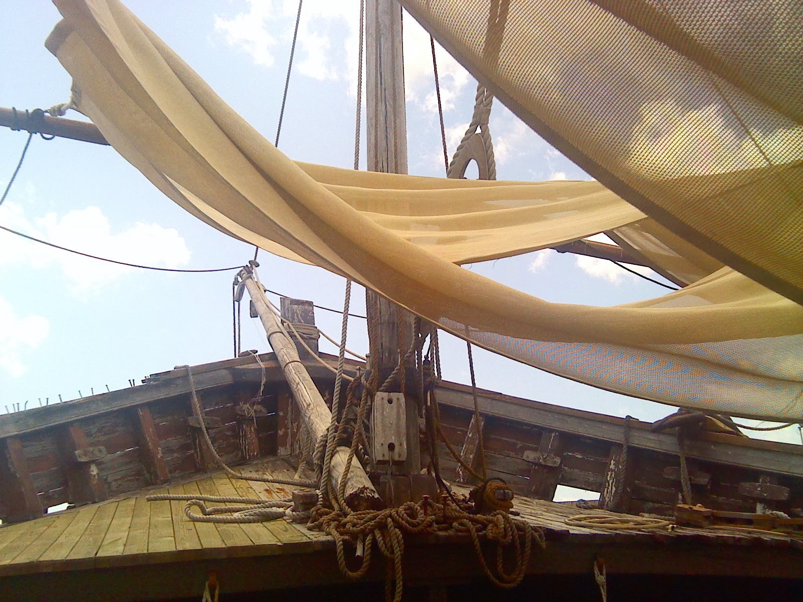 texas thru my back door the ships of christopher columbus