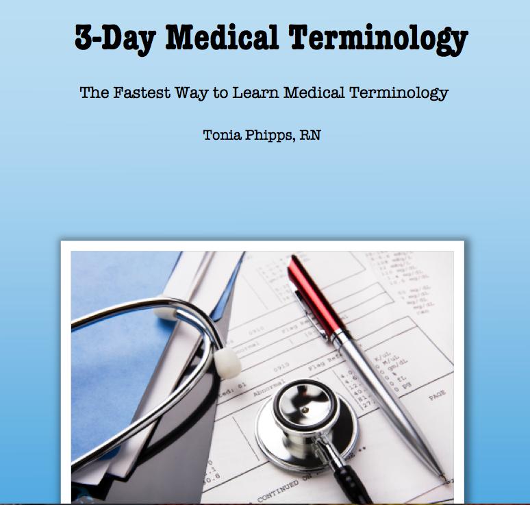 MEDICAL TERMINOLOGY EBOOK PDF