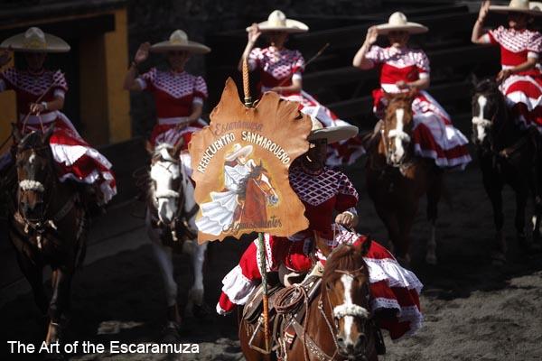 Escaramuza team Reencuentro Sanmarqueno