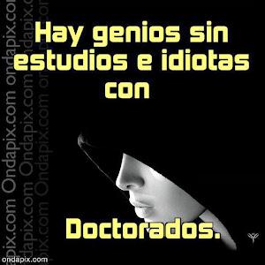 Genios e Idiotas