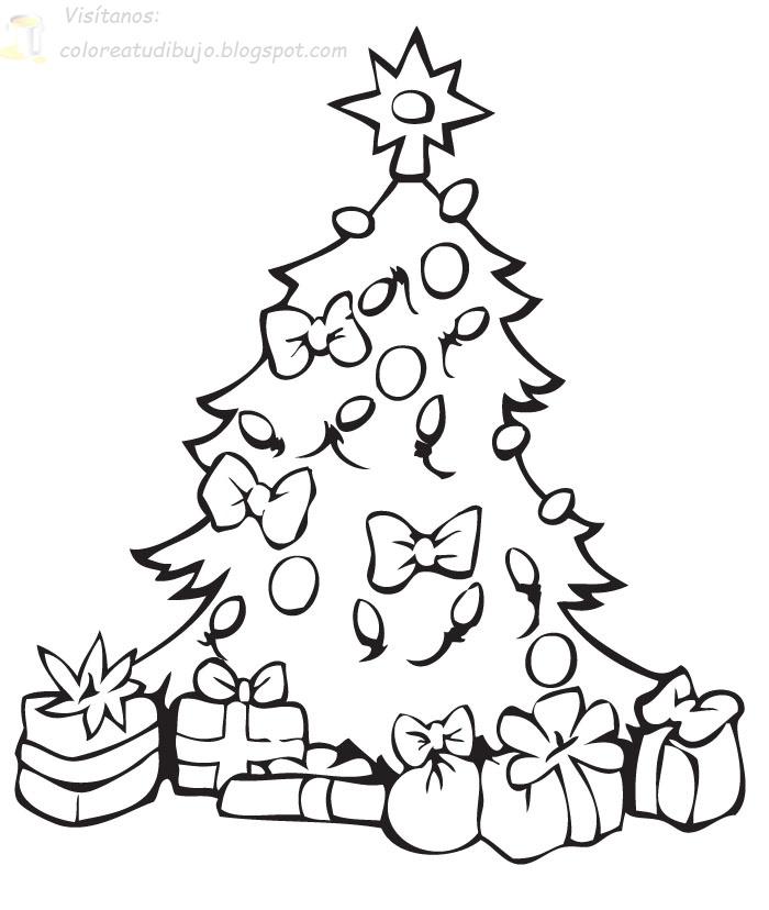 dibujos de navidad para colorear dibujos de navidad para decorar arboles navideos para colorear navidad para colorear y pintar rbol navideo con - Dibujo Arbol De Navidad