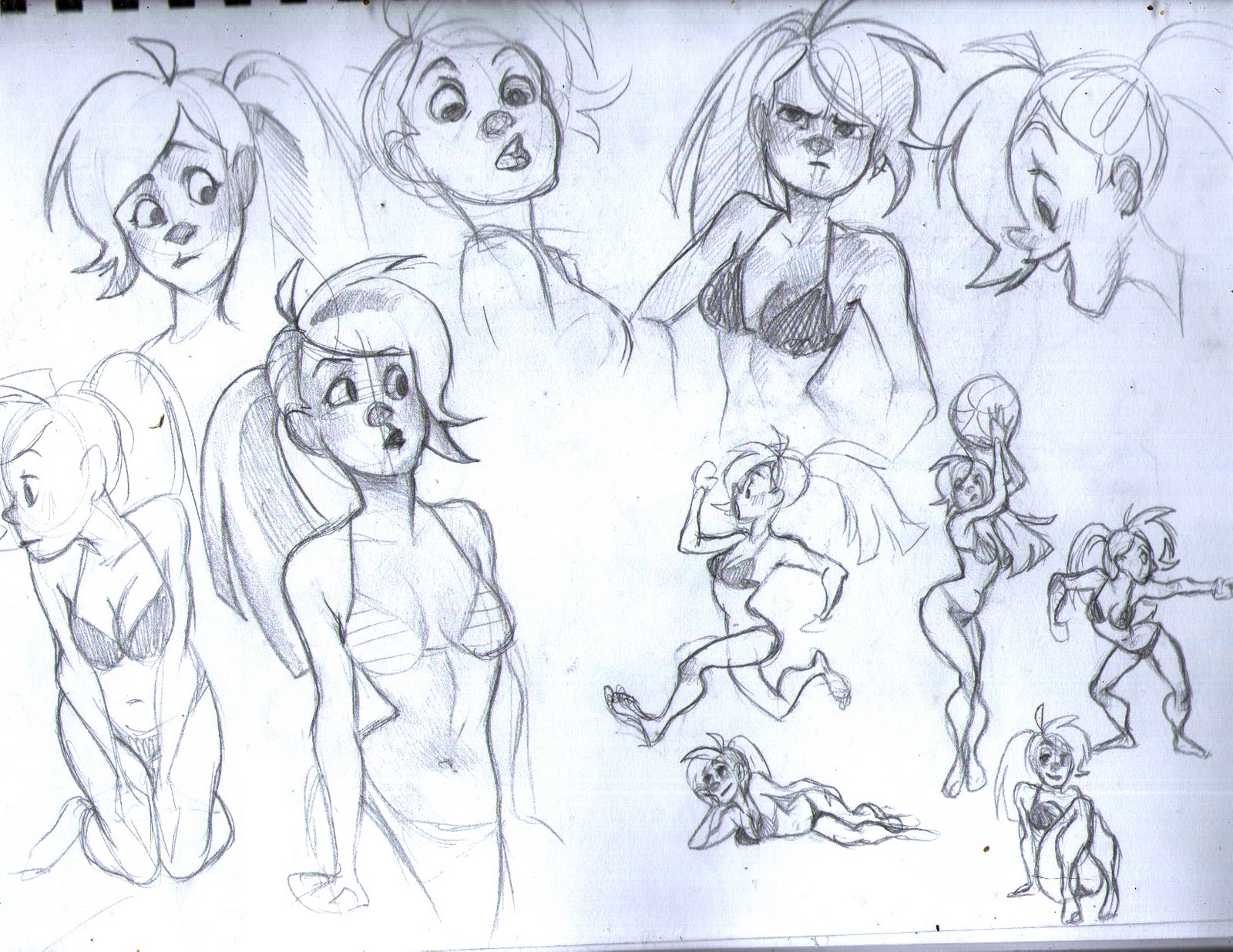 NatSmall's sketchbook or something (nudity)