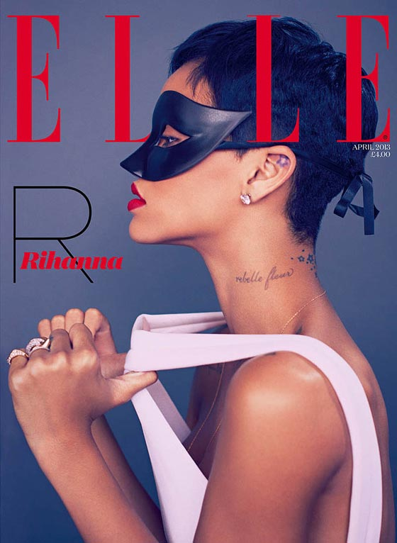 rihanna elle uk