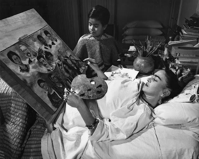 Bedridden, Bedlar, Mexican, Art, Disability