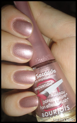 bourjois 1 secunde nail polish #2 swatches