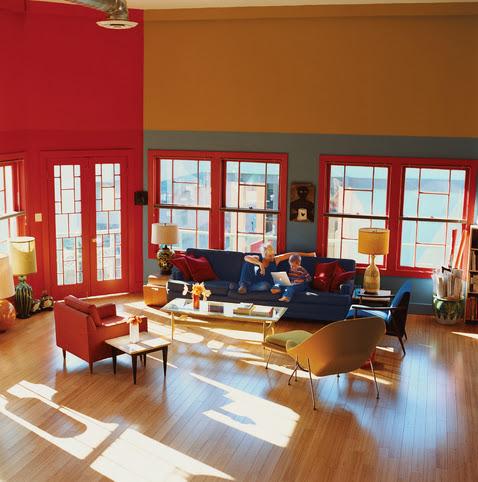 Sillas decoractual dise o y decoraci n for Colores para living comedor