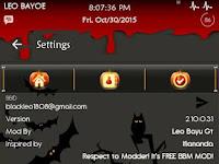 Dowbload Bbm Mod Happy Halloween's Day all. V2